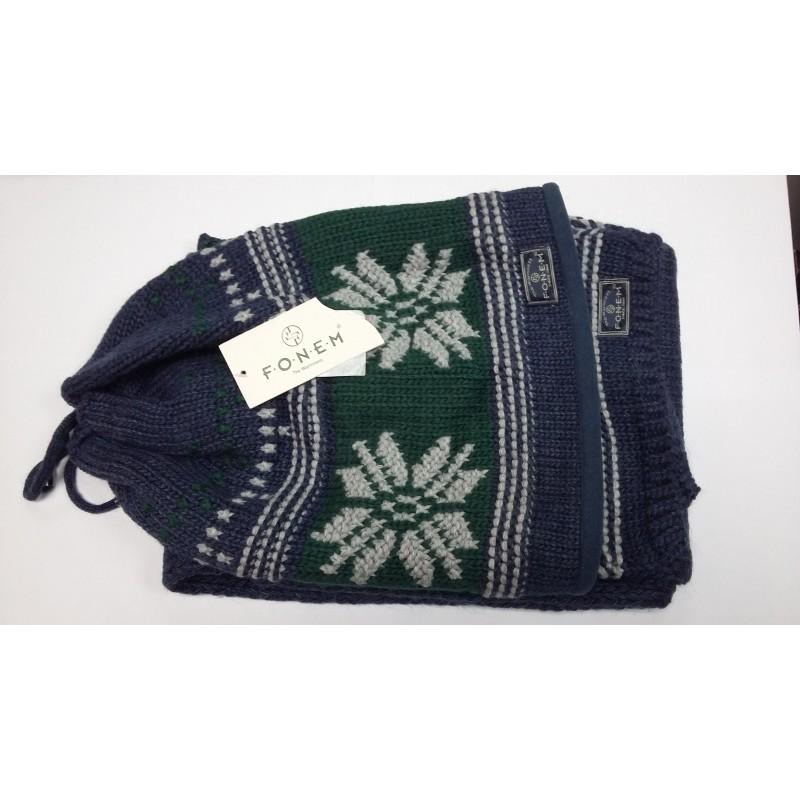 Комплект зимний FONEM шапка-шарф FO-3556  - фото 1